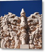 Architecture At The Lensic Theater In Santa Fe Metal Print