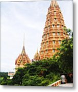 architecture at Wat Tham Sua Metal Print