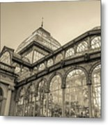 Architecture For The Light Metal Print