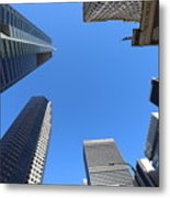 Architecture Tall Color Buildings Metal Print