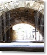 Archway And Gate Metal Print
