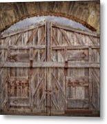 Archway Gate Metal Print