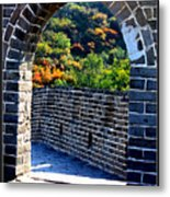 Archway To Great Wall Metal Print