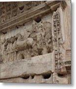 Arco Di Tito Relief Metal Print
