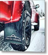 Arctic Trucks Metal Print