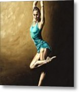 Ardent Dancer Metal Print