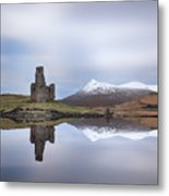 Ardvreck Castle Reflection Metal Print