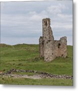 Ardvrek Castle 0947 Metal Print