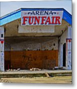 Arena Funfair. Metal Print