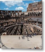 Arena Of Death And Glory Metal Print