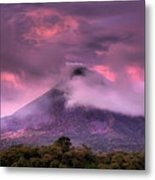 Arenal Volcano Metal Print