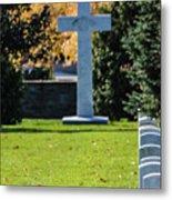 Argonne Cross Memorial Metal Print