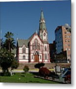 Arica Chile Church Metal Print