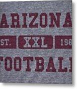 Arizona Cardinals Retro Shirt Metal Print