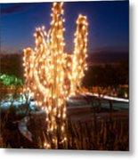 Arizona Christmas Tree Metal Print