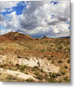 Arizona Cliffs Metal Print