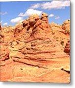 Arizona Desert Dreamscape Metal Print