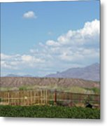 Arizona Farming Metal Print