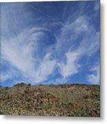 Arizona Foothill Sky Metal Print