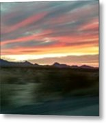 Arizona Highway Metal Print