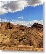 Arizona Hills Metal Print