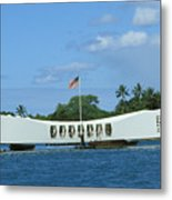 Arizona Memorial Metal Print