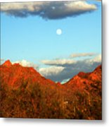 Arizona Moon Metal Print