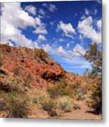 Arizona Red Rock Metal Print