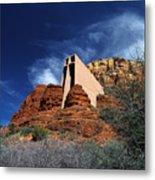 Arizona, Sedona  Chapel Of The Holy Cross Metal Print