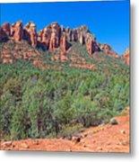 Arizona-sedona-soldier's Pass Trail Metal Print