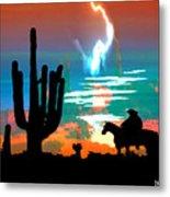 Arizona Skies Metal Print