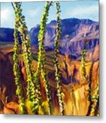 Arizona Superstition Mountains Metal Print