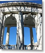 Arlington Amphitheater From The Outside Metal Print