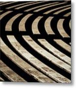 Arlington Cemetery Amphitheater Benches Metal Print