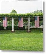Arlington Flags Metal Print