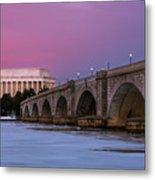 Arlington Memorial Bridge Metal Print