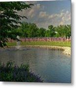 Arlington Memorial Gardens Metal Print