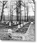 Arlington National Cemetery - C 1867 Metal Print by International  Images