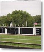 Arlington Park Race Track Metal Print