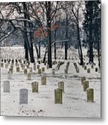 Arlington Winter Snow Metal Print