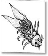 Arm Fish Metal Print