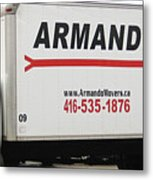 Armando Movers Metal Print