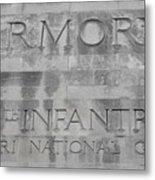 Armory Signage Metal Print