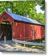 Armstrong/clio Covered Bridge Metal Print