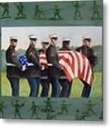 Army Men Metal Print