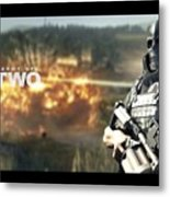 Army Of Two Metal Print