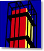 Arne Jacobseb Tower Metal Print