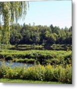 Aroostook River Landscape Metal Print