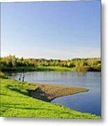Around Barton Marina Lake Metal Print