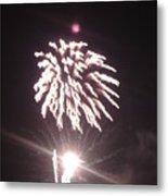 Around The Fourth Fireworks Xiii Metal Print